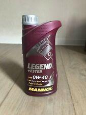 1 Lieter MANNOL LEGEND+ESTER 0W-40 Für Mazda MPS / Ford Ecoboost