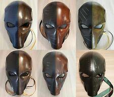 Deathstroke Mask Two Eyes, Deathstroke Helmet, Comics, Arkham Origin, Halloween.
