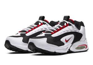 MENS Nike Air Max Triax 96 White BLACK Red CD2053-105 7.5 TO 12