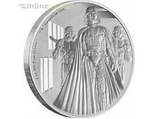 2 $ Dollar Star Wars Krieg der Sterne Darth Vader Niue Island 1 oz Silber 2016