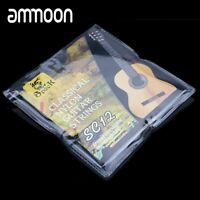 Guitar Strings Set Nylon Silver Plating Super Light for Classic Acoustic Guitar