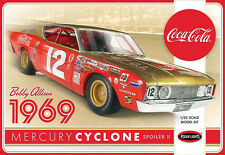 Polar Lights 1/25 Allison Mercury Cyclone Spoiler II Coca Cola PLASTIC KIT 948