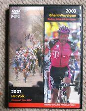 2003 Omloop Het Volk/Ghent Wevelgem World Cycling Productions 2 DVD Very Clean