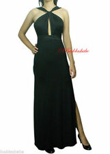 Cocktail Patternless Synthetic Maxi Dresses for Women