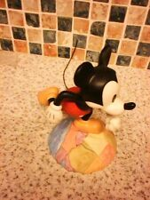 WDCC WALT DISNEY FIGURINE  MICKEY MOUSE THRU THE MIRROR ON TOP OF THE WORLD 2000