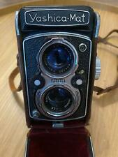 Yashica Mat TLR Camera w/ Copal MXV Yashinon 80mm f3.5 w/ CASE