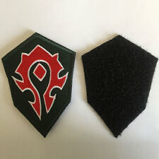 World of Warcraft WOW Horde Insignia Medal Tactical Morale Badge Emblem Patch