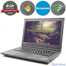 "Lenovo Thinkpad L440 14"" i5-4300M 2.6GHz, 500GB, 8GB Windows 7 Grade C (ACC)"