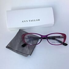 NEW 100% Authentic Ann Taylor AT308 C03 Eyeglass Frames Pink Fade Translucent