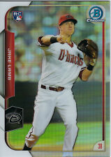 2015 Bowman Chrome Refractor #168 Jake Lamb Arizona Diamondbacks Baseball Card