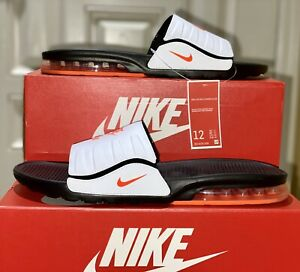 Nike Air Max Camden Mens Slide Sz-12 Black/ Hyper Crimson-White BQ4626-009