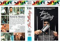 (VHS) Terror in Alcatraz - Aldo Ray, Veronica Porche Ali, Sandy Brooke (1986)