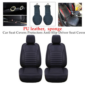 1 Pair Universal Car Seat Covers Protectors Driver Seat Cover Backrest Durable