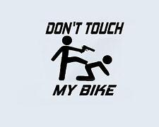Don ' t Toucher ma vélo moto Vélomoteur, Mobylette Moyeu de roue