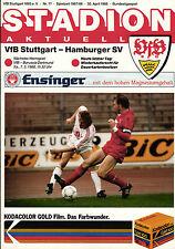 BL 87/88 VfB Stuttgart - Hamburger SV, 30.04.1988