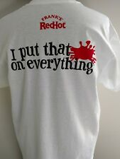 Franks's Red Hot Lover T Shirt XL I Put that S**t on Everything
