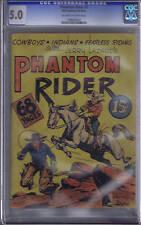 Phantom Rider #1 Bell Features Pub. CGC 5.0 RARE CANADIAN EDITION
