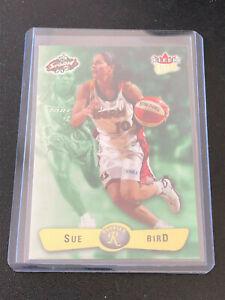 2002 Fleer Ultra WNBA Basketball SUE BIRD RC #101 Seattle Storm - UCONN Rookie