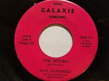 "RAUL MANJARREZ - Por Dinero / Muneca De La Noche RARE LATIN Bolero Corrido 7"""