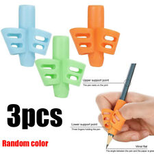 3PCS Writing Device Aid Grip Posture Correction Children Pencil Pen Holder Tools