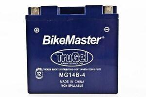 BikeMaster TruGel Battery  MG14B-4