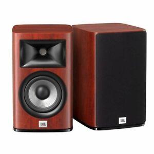 JBL STUDIO 630 W JBLS630WJN Pair 2way Bookshelf Speakers Compression Driver JPN