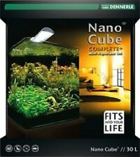 Dennerle NanoCube 30 Complete Plus + LED Nano Cube Mini-Aquarium Filter LEDLicht