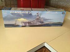 2014 Trumpeter 1/350 USS New York BB-34 Battleship Plastic Model Kit 05339 MIB
