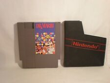 Dr. Mario (Nintendo Entertainment System, 1990)  game only