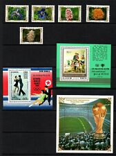 KOREA - NHM FLOWERS STAMPS, OLYMPICS AND FOOTBALL, YEAR OF CHILDREN MS