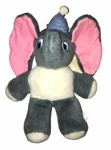 "Vintage 1960s Walt Disney Productions Dumbo The Elephant 13"" Plush Toy Doll"