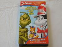 Dr. Seuss - The Grinch Grinches the Cat in the Hat/The Hoober-Bloob Highway VHS