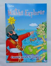 Maths Explorer (Rare Book - New) for 7 - 11 year olds
