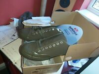 Superga 2750 My Cotm Classic Pumps in Military Green - canvas trainers size 45
