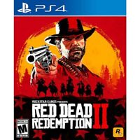 Red Dead Redemption 2 (PlayStation 4, 2018) - Used