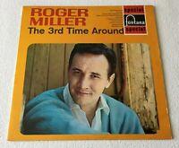 ROGER MILLER ~ THE 3rd TIME AROUND ~ 1968 UK 10-TRACK STEREO VINYL LP REISSUE