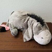 "Disney Parks 24"" Sleeping Eeyore Dream Friends Sleeping Plush Pillow Doll"