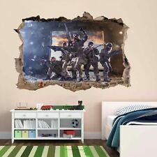 Francotirador Soldado Ejército Militar Guerra 3D Pared Adhesivo Mural Calcomanía Cuarto de Niños Chicos CP64