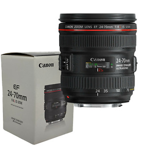New Canon EF 24-70mm f/4 L IS USM Lens