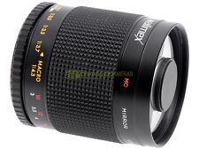 Walimex teleobiettivo 500mm. f8 MC con innesto T2 x Nikon, Canon, Pentax, ecc.