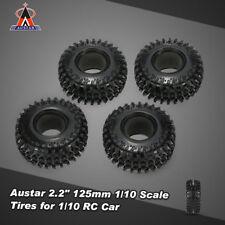 "BEST 4X Austar 2.2"" 125mm 1/10 Scale Tires for RC4WD D90 SCX10 Rock Crawler D7V2"