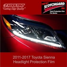 Headlight Protection Film by 3M for the 2011 to2017 Toyota Sienna Minivan