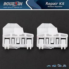 2x VW PASSAT 1996-2005 WINDOW REGULATOR REPAIR CLIPS FRONT LEFT