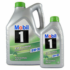 Mobil 1 ESP Formula 5W-30 Fully Synthetic Engine Oil 5W30 Mobil1 5L+1L 6 Litres
