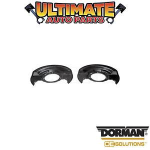 Dorman: 947-010 - Brake Backing Plate / Dust Shield - Front