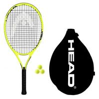 "Head Extreme Junior Tennis Racket + 3 Tennis Balls (19""-26"" Size Options)"