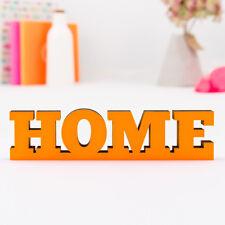 """Kleinlaut 3D-Schriftzug """"Home"""" 32 Farben & 5 Größen Geschenk Hochzeit"""