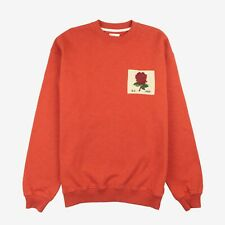 KENT & CURWEN Bossa Nova Rose Patch Oversized Sweatshirt - New With Defects