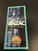 2015 Anzac Centenary RAM $1 UNC B counterstamp