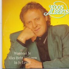 Koos Alberts-Wanneer Je Alles Hebt Verloren In Het Leven cd single